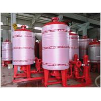 China Stainless Steel 304 / 316 Diaphragm Water System Pressure Tank With Polishing Treatment wholesale