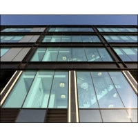 China Glass Facade exterior glass wall systems Architectural Heat Insulation double glazed curtain wall wholesale