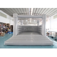 China White Bouncy Castle For Wedding Inflatable White Castle Wedding White Jumping Castle Inflatable Water Bounce House wholesale