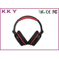 China 10 Hours Play Time Over Ear Bluetooth Headphones Comfortable ABS / PC / Metal wholesale