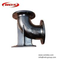 China ISO 2531 cement lined ductile iron di duckfoot pipe fitting on sale