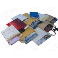 China Protective Waterproof Brown / Red Kraft Bubble Mailer With Seamless Botton wholesale
