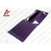 China UV Coated Automatic Foldable Paper Boxes Gift Packaging With Magnets wholesale