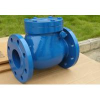 China Automatic Swing Check Valve For Pipelines And Equipments DN15 ~DN1200 on sale