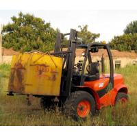 China Powerful easy maintenance offroad terrian new 3.5T forklift truck for sale wholesale