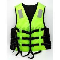 China Adult Green Water Sport Life Jacket PFD Inherent Buoyancy Boat Life vest wholesale