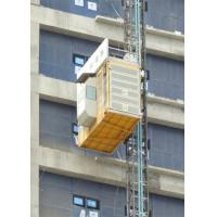 China High Speed Heavy Load Building Site Hoist , Temporary Construction Elevators wholesale