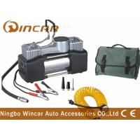 China Portable Car Air Compressor Air Pump Tire Inflator With Carry Bag wholesale