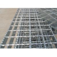 China Galvanized Serrated Flat bar Serrated Steel Grating for platform on sale