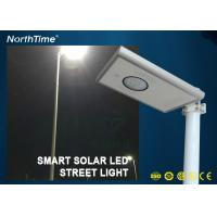 China Infrared Body Sensor Solar luminaires Solar Powered Road Lights All in One Pole wholesale