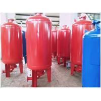 China Horizontal Orientation Diaphragm Pressure Tank For Water Supply Equipment wholesale