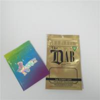 China Child Proof Aluminium Foil Pouch Packaging Stand Up Bag For Marijuana Gummy Candy wholesale