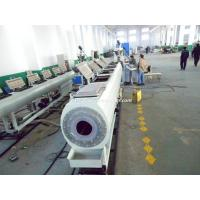 China Pipe Making Machinery / PVC Pipe Extruder / Plastic Pipe Manufacturing Machine wholesale