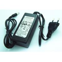 China EU Plug 24W 12V 2A Desktop DC Power Supply Adapter with Two Wire Connect wholesale