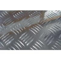 China Bright Surface Five Bars Aluminium Checker Plate Sheet 5052 Checker Plate Anti Slip Plate wholesale