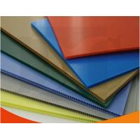Buy cheap Colorful Polypropylene Corrugated Plastic Sheets exhibition board from wholesalers
