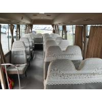 China LHD 2016 second hand /used toyota coaster mini coach for sale with 30 seats wholesale