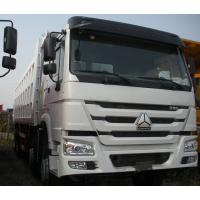 China 371Hp Sinotruck HOWO Truck Left Hand Driving Type 8X4 with cargo body 30 CBM on sale
