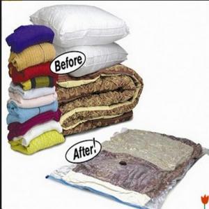 China Transparent Vacuum Pack Storage Bags 67*100cm Vacuum Storage Bags For Clothes wholesale