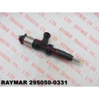 Buy cheap DENSO Genuine comon rail fuel injector 295050-0330, 295050-0331 for CATERPILLAR 3707280, 370-7280 from wholesalers
