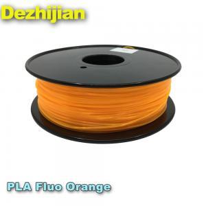 China Neat Winding Spool PLA 3d Printer Filament , Free Sample Pla Plastic Filament wholesale