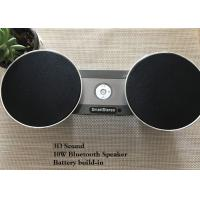 China Metal Stereo Waterproof Bluetooth Speaker With Audio Output Remote Control wholesale