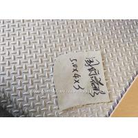 China 300 Series Embossed Stainless Steel Sheets / Embossed Finish For Floor Plate wholesale