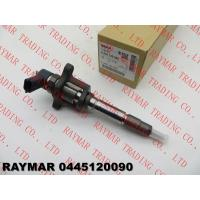 Buy cheap BOSCH Genuine common rail fuel injector 0445120090 for MITSUBISHI FUSO 4M50-TE ME227600, ME225190 from wholesalers
