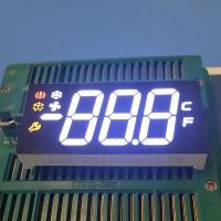 Buy cheap Custom design Multicoour Triple digit 7 segment led display for refrigerator from wholesalers