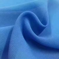 China 2018 the most popular wholesale high quality pearl chiffon fabric Mulinsen Woven Wholesale polyester dyed fabric wholesale