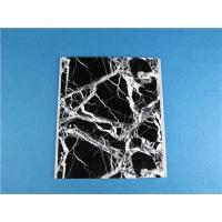 China High Intensity PVC Ceiling Panels / Artificial Marble Board Waterproof For Bathroom wholesale