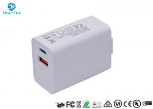 China PD QC3.0 Charging Quick Dual USB 18W Universal Travel Charger wholesale