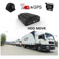 China 4G H.264 Real-time HDD 4Ch 720P AHD Mobile DVR For Truck / Bus / Taxi wholesale