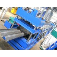 China Highway Fence Cold Bending Roll Forming Machine 5 Rollers Leveling Hole Punching System Use Panasonic PLC Control wholesale