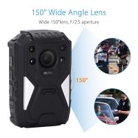 Buy cheap 1296P HD 150 Degree Wide Angle Recording Wearable Video Body Worn Camera Bulit In GPS from wholesalers