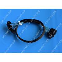 Buy cheap 8 Inch SATA III 6.0 Gbps 7 Pin Female To Female Data Cable With Locking Latch Blue from wholesalers