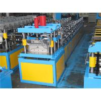 China No Press Step Type Ridge Cap Roll Forming Machine Guide Pillar Structure With Auto Stacker wholesale