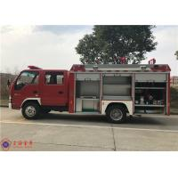 China China IV Emission 4x2 Drive Water Tanker Fire Truck With Strobe Lights on sale