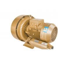 China 11kW Double Stage Golden/Silvery Air Regenerative Blower for Cental Vacuum System wholesale