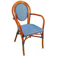 China Red / Blue / Green Sturdy Outdoor Or Indoor Aluminum Dining Chair For Leisure wholesale