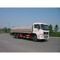 China Dongfeng 6x4 245HP 4,887 US Gallon Oil Tanker Truck 18500L , ISO9001 wholesale