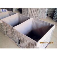 Quality Army Wall Sand Filled Barriers Protective Flood Barriers ISO Certificated for sale