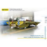 China Heavy Capacity Electric Pallet Rail Transfer Cart for Material Transship wholesale