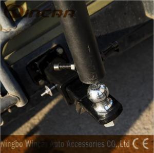 Quality 2 Bike Ball Mounted Car Rear Bike Carrier Rack Rear Trunk Iron for sale