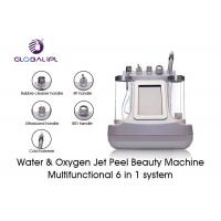 China White Water Oxygen Jet Peel Machine For Eyes Pouch / Dark Circles Improvement on sale