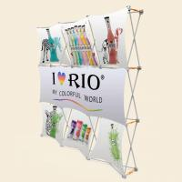 China 3x3 Vivi Vertical Pop Up Banner With Plastic Hanger Strong Square Profile wholesale