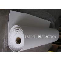 China Thermal Paper Ceramic Fiber Paper For Engine Hood Insulation Ceramic Wool Paper wholesale