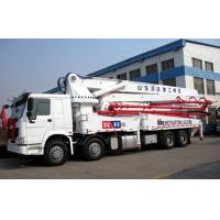 Quality 120m3 Output Truck Mounted Concrete Pump Automatic Control 48m Boom with warranty for sale