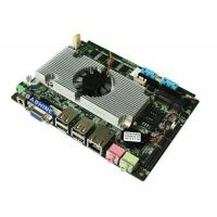 China Intel Atom D525 Processor  3.5 inch 6 COM embedded industrial mainboard DC Power supply wholesale