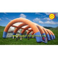 China Waterproof Large Inflatable Party Tent Accommodating Hundreds Of People wholesale
